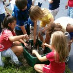 Soil class with children