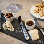 Cheese plate featuring local artisans