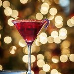 Candy Cane Martini - yum!