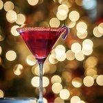 Candy Cane Martini - yum!