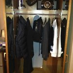 closet with safe that was easy to work