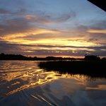Sunset on Bennett's Creek
