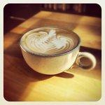 Single shot latte.