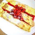 Cherry Kijafa Crepes - A Danish favorite!