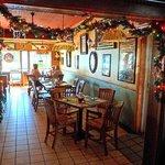 Festive dining room