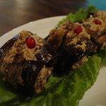 badrijani nigzvit - or however you spell the delicious eggplant walnut dish