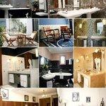 Suites, terrasses, salles de bain