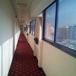 hotel corridor 5th floor
