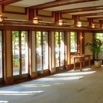 Panoramic View of Living Room, Robie House, Frank Lloyd Wright, 1906
