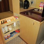 In-room mini bar