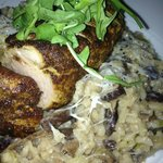 Pork Tenderloin with Mushroom Risotto