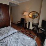 Desk, room 405, Daphne Hotel, Sultanahmet, Istanbul, May 2012
