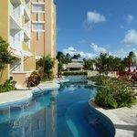 rear of hotel & pool