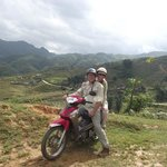 Sapa Valley on motor scooters!