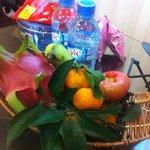Welcome Fruit Basket