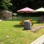 backyard recreation and picnic area