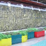 History carved wall of Shenzhen developement.