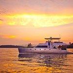 Sunset off the west coast of Phuket