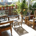 patio to relax