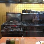 From the Cook Line Seating - Wood Grill!