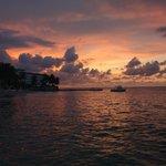 Sunset at tower Isle