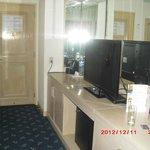Jr. suite extra room tv
