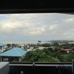 View from Sky Room kitchen window (over the sink)
