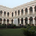 Central Courtyard of the Indian Museum Building.