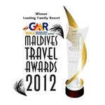 Winner Leading Family Resort award of 2012