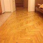 old, nice flooring
