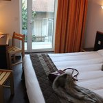 Inter-Hotel Bristol : vue sur chambre confort