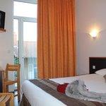Inter-Hotel Bristol : vue sur la chambre confort