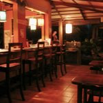 Dining / communal area at night