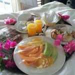 Wedding Breakfast in Bed!