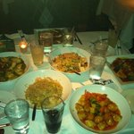 sesame chicken, sweet & sour chicken, shrimp fried rice, house fried rice, seafood lo mein