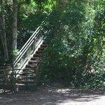escaleras por todos lados