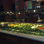 fabulous salad and desert bar