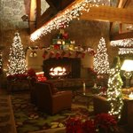 Lodge in December - Beautiful!