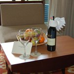 A very nice gesture from the Manager of the Hotel after a misunderstanding in scope of room serv