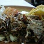 Carne di maiale con patate (gyros)