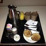 complimentary breakfast beverages