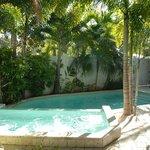 Grand Villa Pool Area