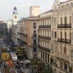 Hostal Patria Madrid vistas