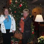 The cookie gals in the lobby of the White Mountain Resort