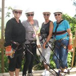 The best zip line in Belize!