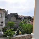 Street & neighborhood view, room 404, Daphne Hotel, Sultanahmet, Istanbul, May 2012