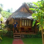Our love hut at the Bann Panburi Village