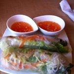 rice wrap with crispy rice