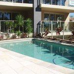 Swimming pool at Watermark Apartments