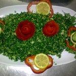Tabboula - traditional arabic salad